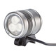 Red Cycling Products Night Beamer helmlamp 1500 in zilver